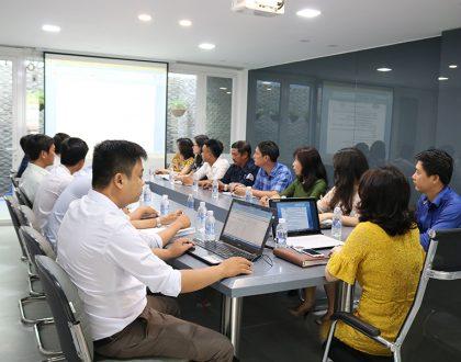 Buổi đào tạo nội bộ về Hệ thống quản lý chất lượng ISO 9001:2015.